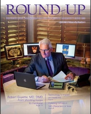 cover of roundup magazine